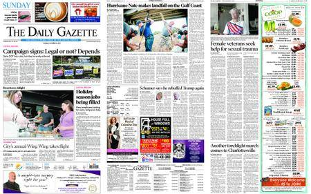 The Daily Gazette – October 08, 2017