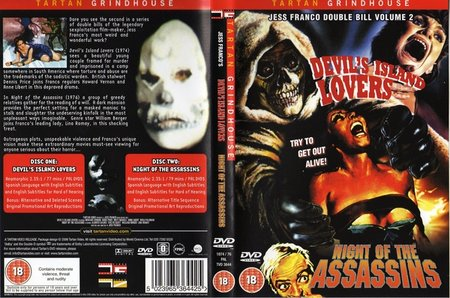 Devil's Island Lovers (1974) + Night of the Assassins (1974)