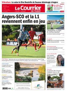Le Courrier de l'Ouest Cholet – 22 août 2020