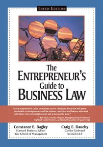 The Entrepreneur's Guide to Business Law, 3 edition