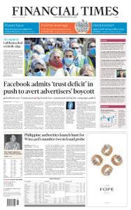 Financial Times Europe - June 25, 2020