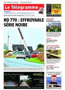Le Télégramme Landerneau - Lesneven – 16 novembre 2019