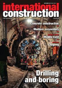 International Construction – August 2018