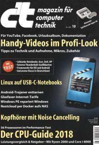 c't Magazin Nr.10 - 28 April 2018