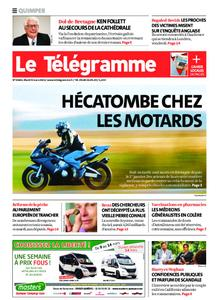 Le Télégramme Quimper – 09 mars 2021