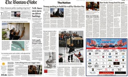 The Boston Globe – August 29, 2019