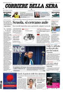 Corriere della Sera – 25 agosto 2020