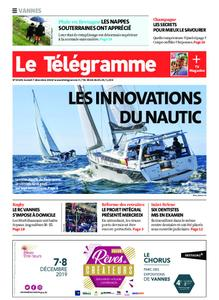 Le Télégramme Vannes – 07 décembre 2019