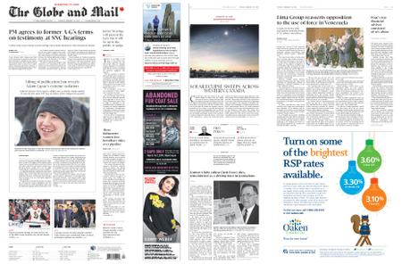 The Globe and Mail – February 26, 2019