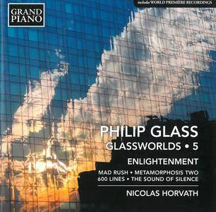Nicolas Horvath - Philip Glass: Glassworlds, Volume 5: Enlightenment (2016)