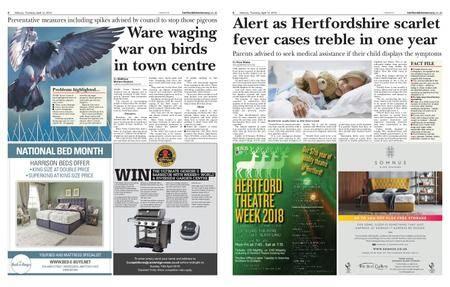 Hertfordshire Mercury – April 12, 2018