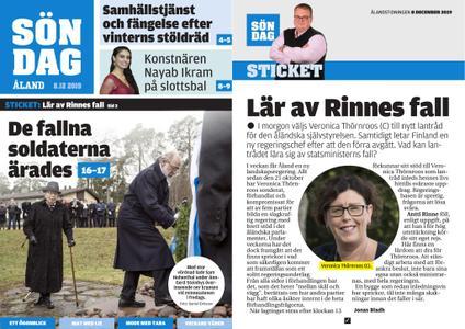 Ålandstidningen – 08 december 2019