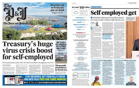 The Press and Journal Moray – March 27, 2020