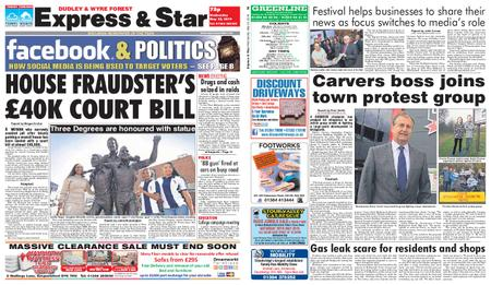 Express and Star Dudley and Wyre Forest Edition – May 22, 2019