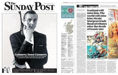The Sunday Post Scottish Edition – November 01, 2020