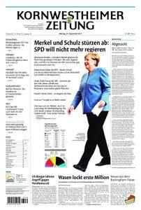 Kornwestheimer Zeitung - 25. September 2017