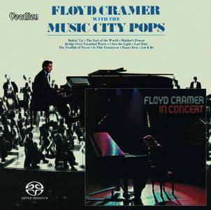 Floyd Cramer - With The Music City Pops & In Concert (1970/1974) [Reissue 2018] MCH PS3 ISO + Hi-Res FLAC