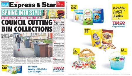 Express and Star City Edition – March 22, 2018