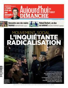 Aujourd'hui en France - 19 Janvier 2020