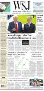 The Wall Street Journal – 13 July 2019