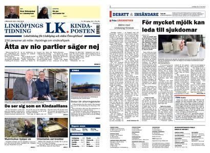 Linköpings Tidning & Kinda-Posten – 05 maj 2018