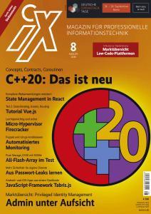 iX Magazin - August 2019