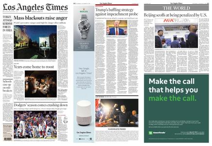 Los Angeles Times – October 10, 2019