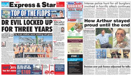 Express and Star City Edition – March 22, 2019