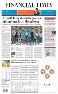 Financial Times Europe - July 1, 2020