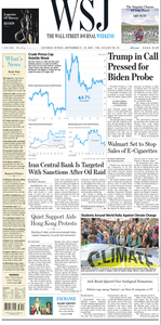 The Wall Street Journal – 21 September 2019