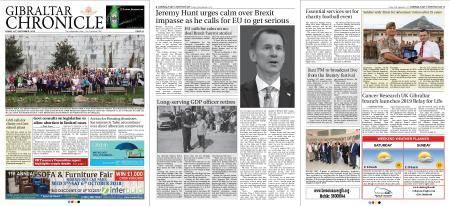 Gibraltar Chronicle – 28 September 2018