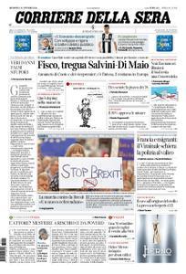 Corriere della Sera – 21 ottobre 2018