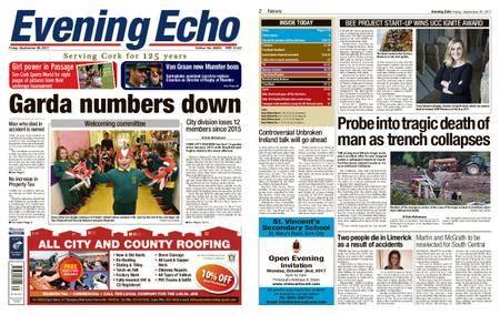 Evening Echo – September 29, 2017