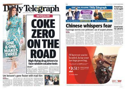 The Daily Telegraph (Sydney) – September 05, 2017