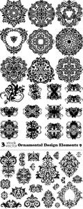 Vectors - Ornamental Design Elements 9