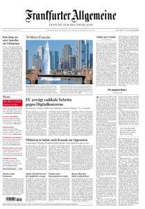 Frankfurter Allgemeine Zeitung F.A.Z. - 15. April 2019