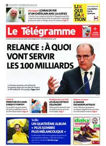 Le Télégramme Ouest Cornouaille – 04 septembre 2020