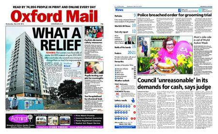 Oxford Mail – March 28, 2018