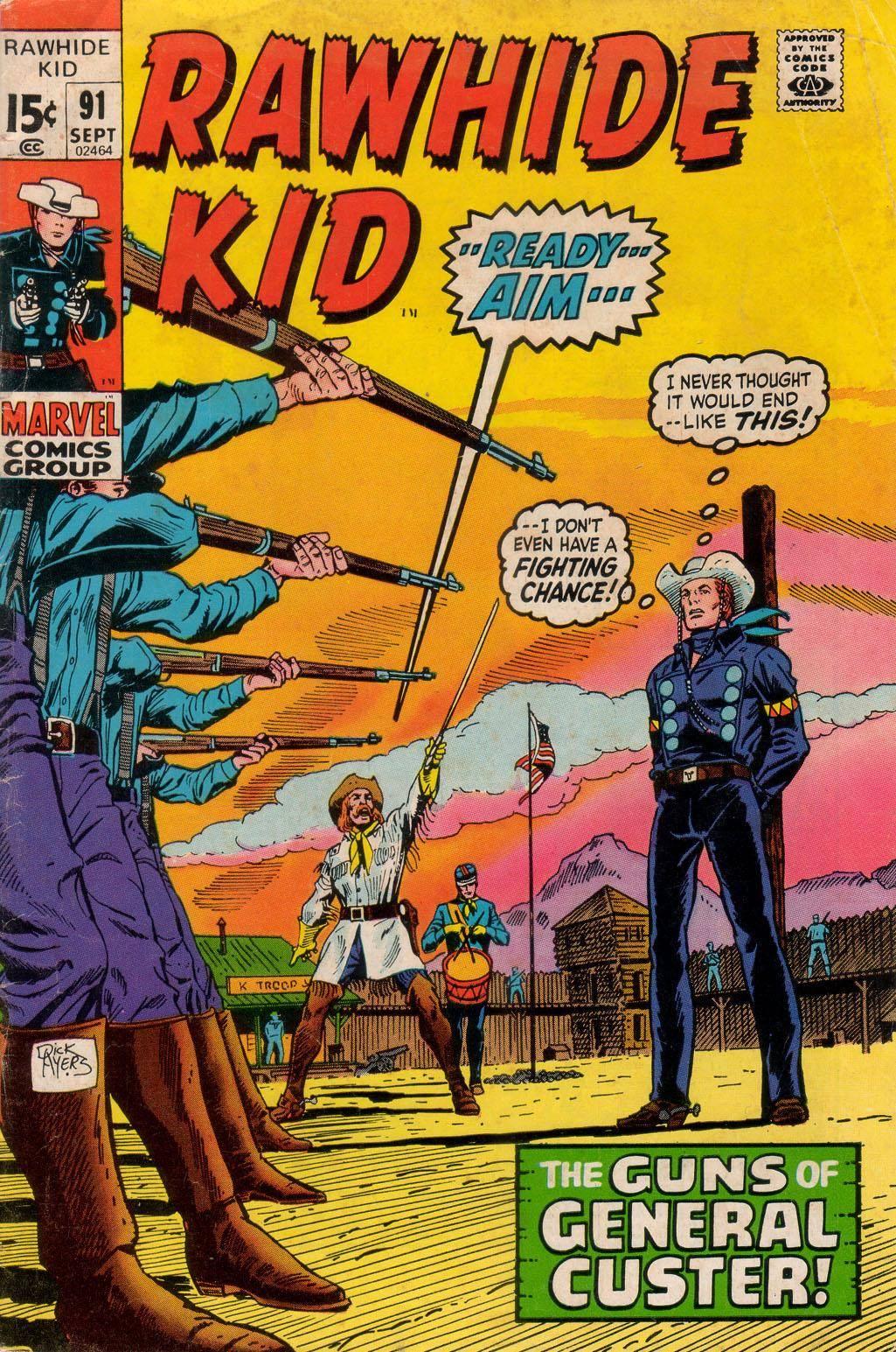 Rawhide Kid v1 091 1971