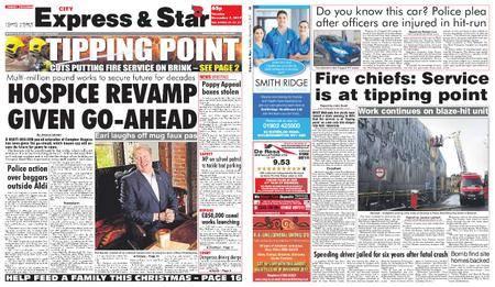 Express and Star City Edition – November 07, 2017