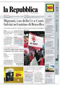 la Repubblica - 25 Giugno 2018
