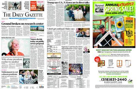 The Daily Gazette – April 18, 2018