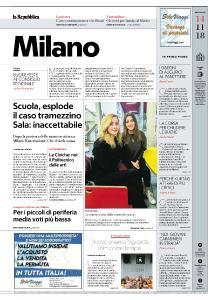 la Repubblica Milano - 14 Novembre 2018