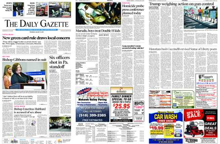 The Daily Gazette – August 15, 2019