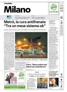 la Repubblica Milano - 28 Marzo 2019