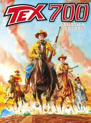 Tex Willer Mensile 700 - L'oro dei Pawnee (Tutto a Colori) (02/2019)