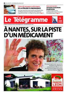 Le Télégramme Ouest Cornouaille – 18 janvier 2021