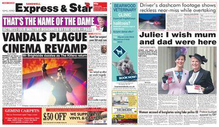 Express and Star Sandwell Edition – November 08, 2017