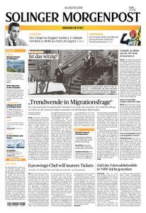 Solinger Morgenpost – 31. Dezember 2018