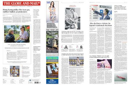 The Globe and Mail – July 22, 2019